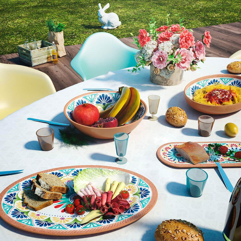 Piatti di melamina: con Emporio Zani il design è… servito!