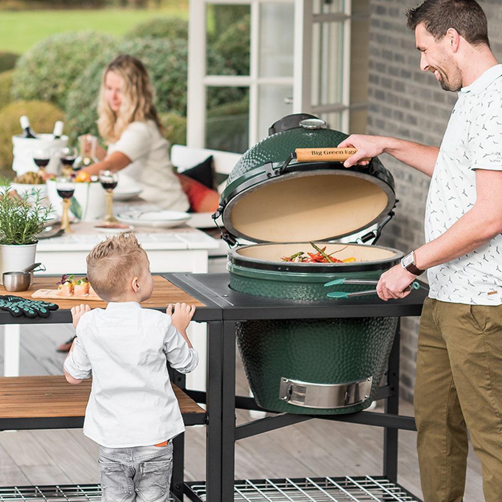 Barbecue Big Green Egg: come funziona e quale scegliere