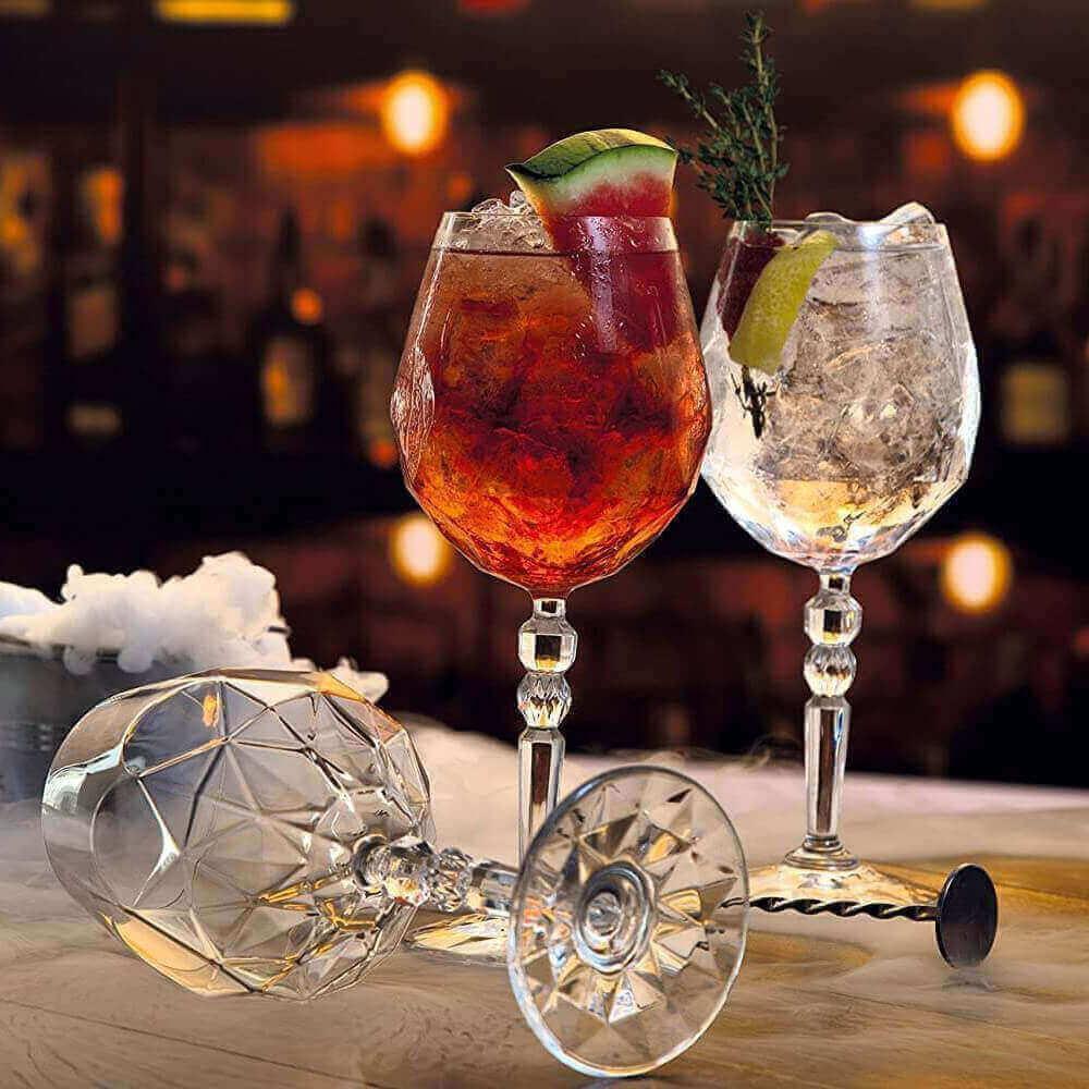 Servizio bicchieri cristallo: il nuovissimo eco-crystal glass dei set RCR