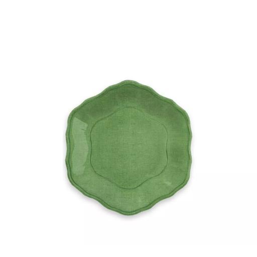 Piatto Dessert 6 pz - York Verde in melamina