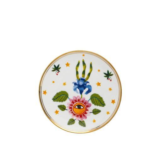 Piatto Floreale Occhio cm 17 -  La Tavola Scomposta