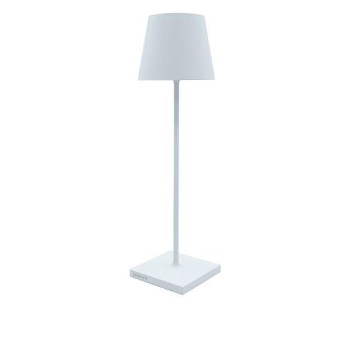 POLDINA PRO - Lampada da Tavolo Bianca