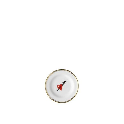 Piattino Micro Cuore cm 9,5 -  La Tavola Scomposta