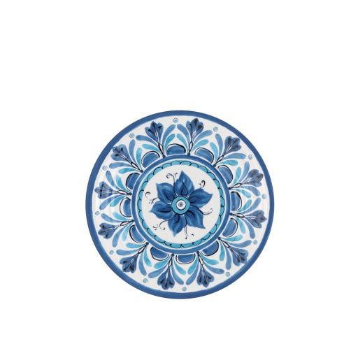 Piatto Dessert 6 pz - Havana Blu in melamina