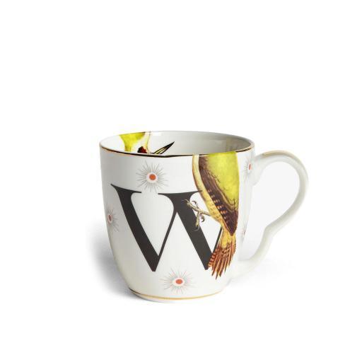 Tazza Alfabeto - W woodpecker