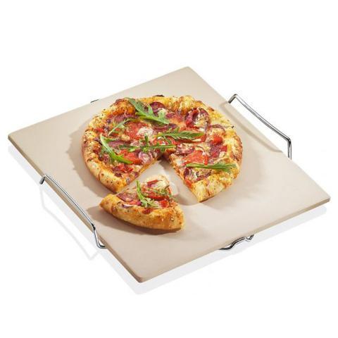 Pietra refrattaria quadrata per pizza
