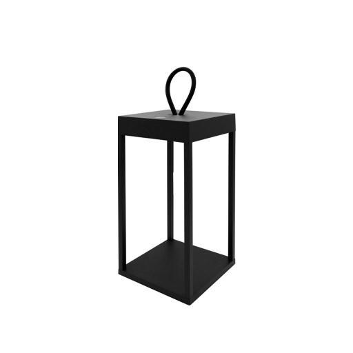 DIOGENE - Lanterna LED Nero 30 cm