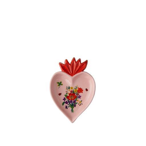 Vassoietto Micro Cuore Rosa -  La Tavola Scomposta