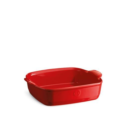 Pirofila quadrata piccola - Rosso 0,7lt