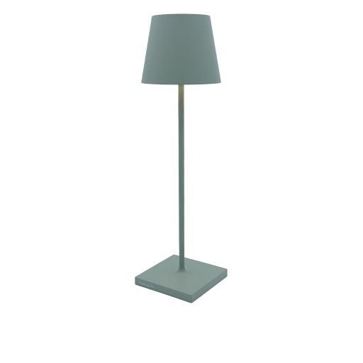 POLDINA PRO - Lampada da Tavolo Salvia