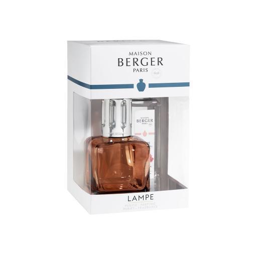Cofanetto lampada e profumo GLACON - Ambre Rosè