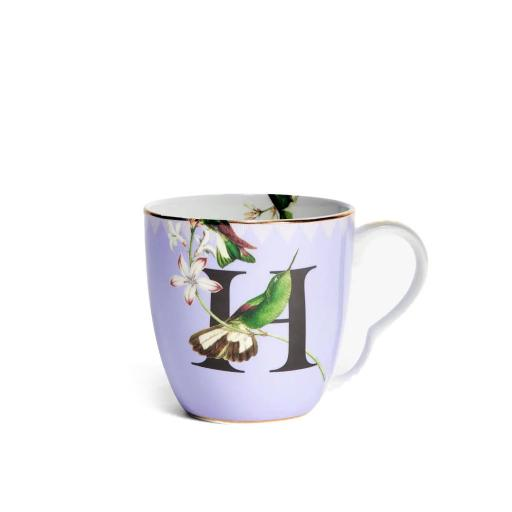 Tazza Alfabeto - H humming bird