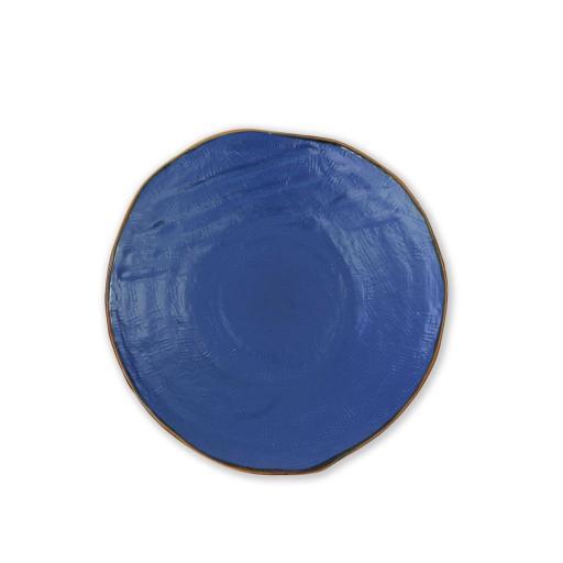 Piatto Piano 4 pz - Mediterraneo Blu
