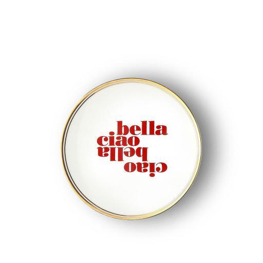 Piatto Ciao Bella cm 17 -  La Tavola Scomposta