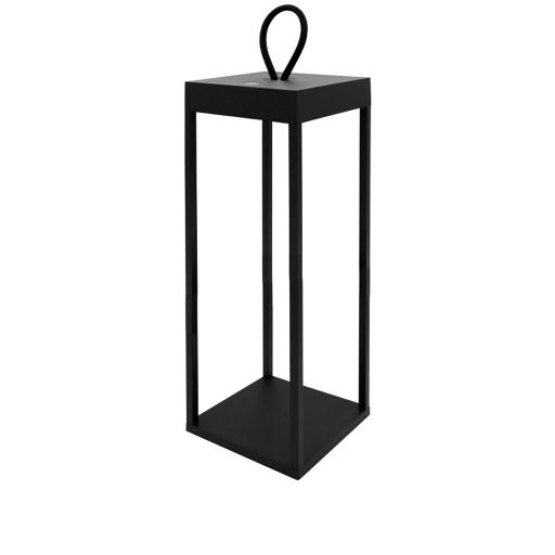 DIOGENE - Lanterna LED Nero 50 cm
