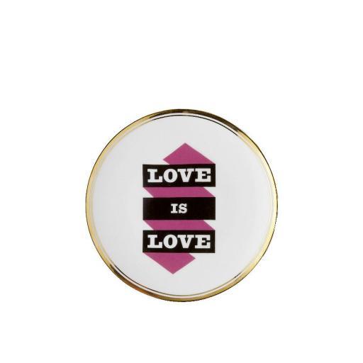 Piatto Love is Love cm 17 -  La Tavola Scomposta
