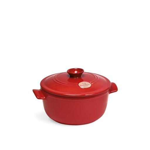 Cocotte rotonda - Rosso 2,5lt