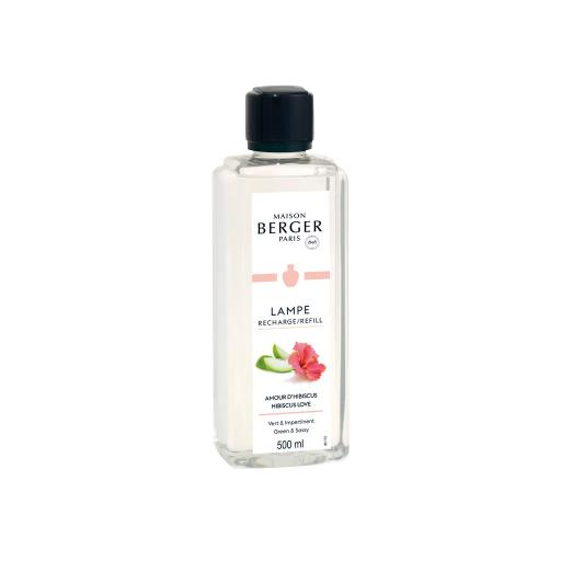 Maison Berger - AMOUR D'HIBISCUS 500ml (Ricarica per Lampe)