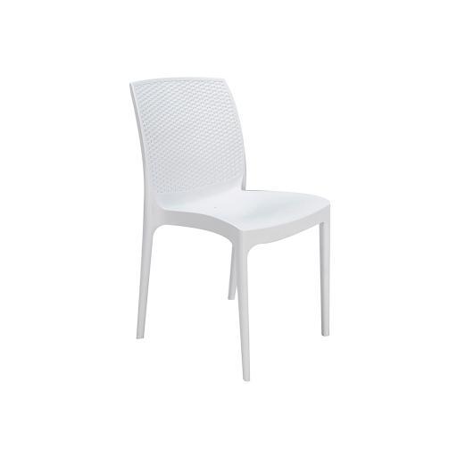 Sedia bianca resina BOHEME