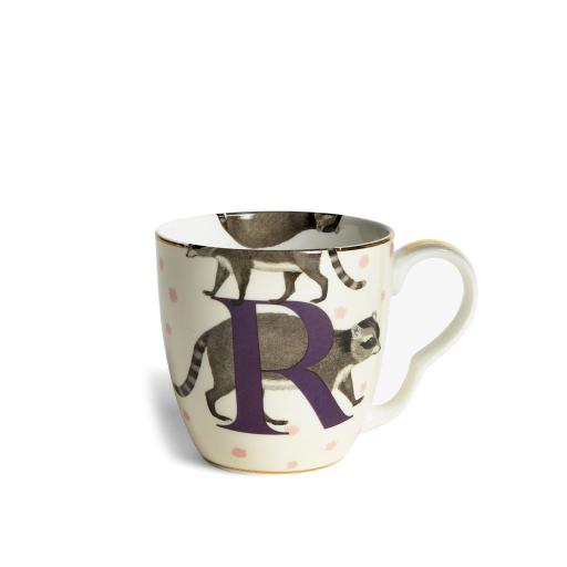 Tazza Alfabeto - R racoon