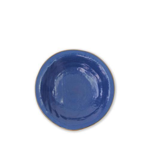 Piatto Fondo 4 pz - Mediterraneo Blu