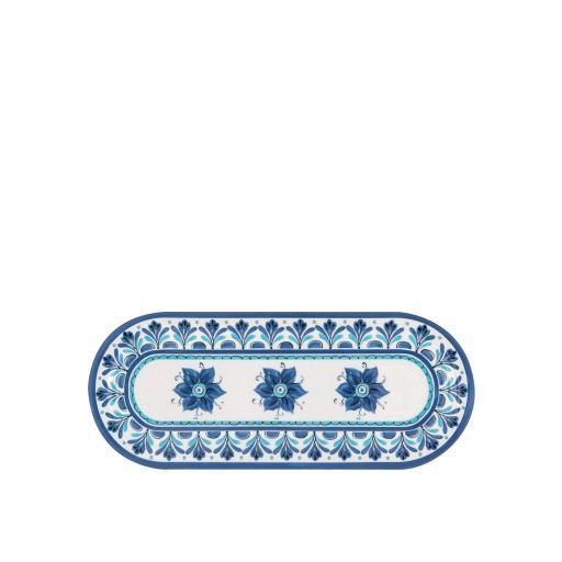 Vassoietto Ovale - Havana Blu in melamina