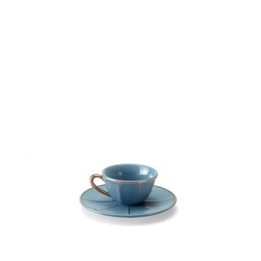 Tazza Caffè C/Piatto carta zucchero - La Tavola Scomposta