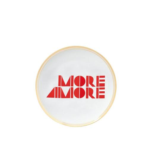 Piatto More Amore cm 17 -  La Tavola Scomposta