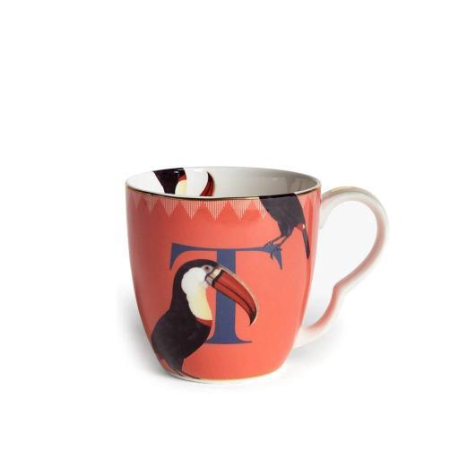 Tazza Alfabeto - T toucan