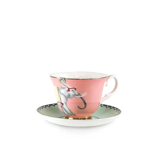 Tazza da Tè con piattino - Carnival Elephant