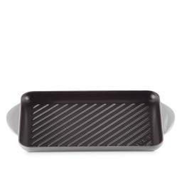 Grill rettangolare Tradition mist grey 32x22 cm